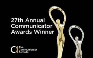 Communicator Awards statue